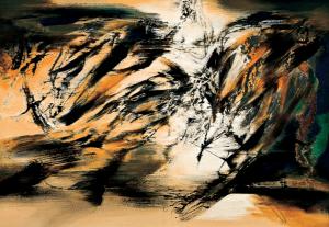 113x161cm, Acrylic on canvas, 2014