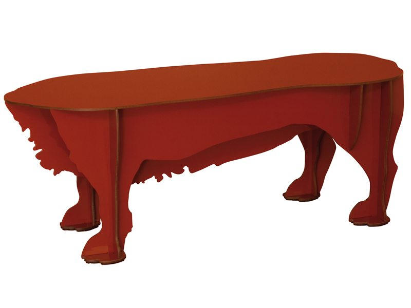 ibride Dog Stool - *Available in Black and Red* HKD 2,600  W69 x 27 x 22cm