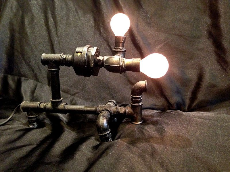 Art Lamp - *Available* HKD 8,800 (Side View) - 13.5 (width) x 7 (length) x 8.5 inches (Height)
