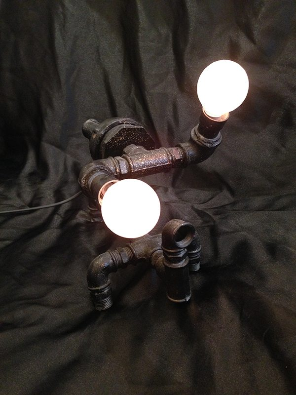 Art Lamp *Available* HKD 8,800 (Frontal View) - 13.5 (width) x 7 (length) x 8.5 inches (Height)