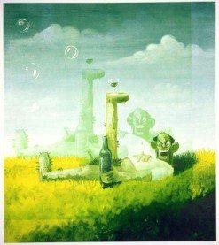 127 x 111.76 cm, 2006, Silkscreen on paper
