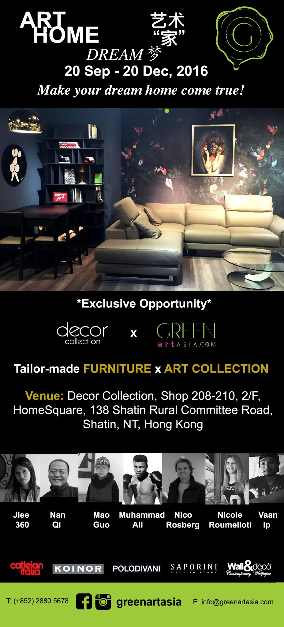 Green Art Asia ART HOME DREAM in HONG KONG